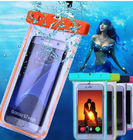Clear Pouch PVC Waterproof Phone Bag Cell Phone Case For Iphone